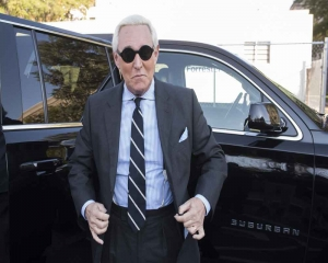 Trump ally Roger Stone to be sentenced as case roils DOJ