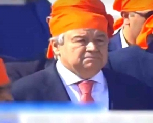UN chief visits Kartarpur Sahib in Pakistan