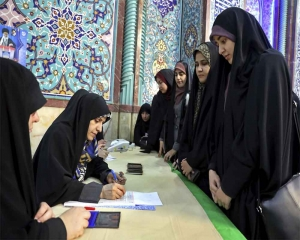 Voting underway in Iran parliamentary election
