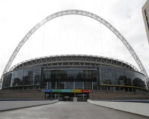 Wembley empty for match for first time, FA cuts 82 jobs