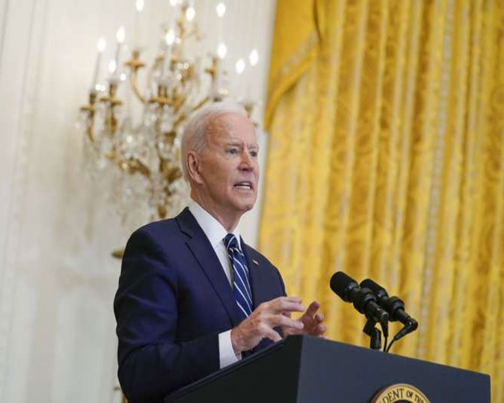 'Wall Street didn't build this country': Biden unveils mega investment plan
