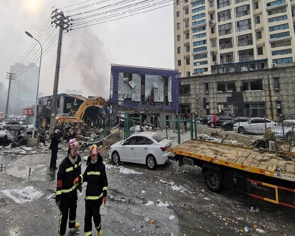 11 killed, 37 injured in gas explosion in China
