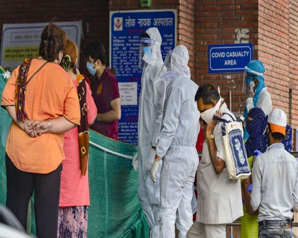 Delhi records highest daily spike of 13,468 COVID-19 cases, 81 more die