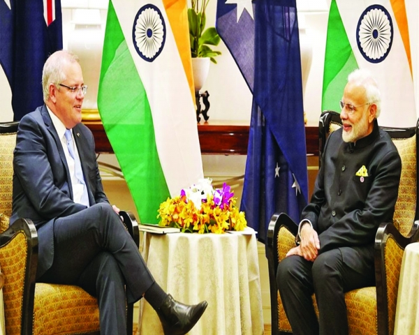 Quad's rise augurs well for India-Oz trade ties