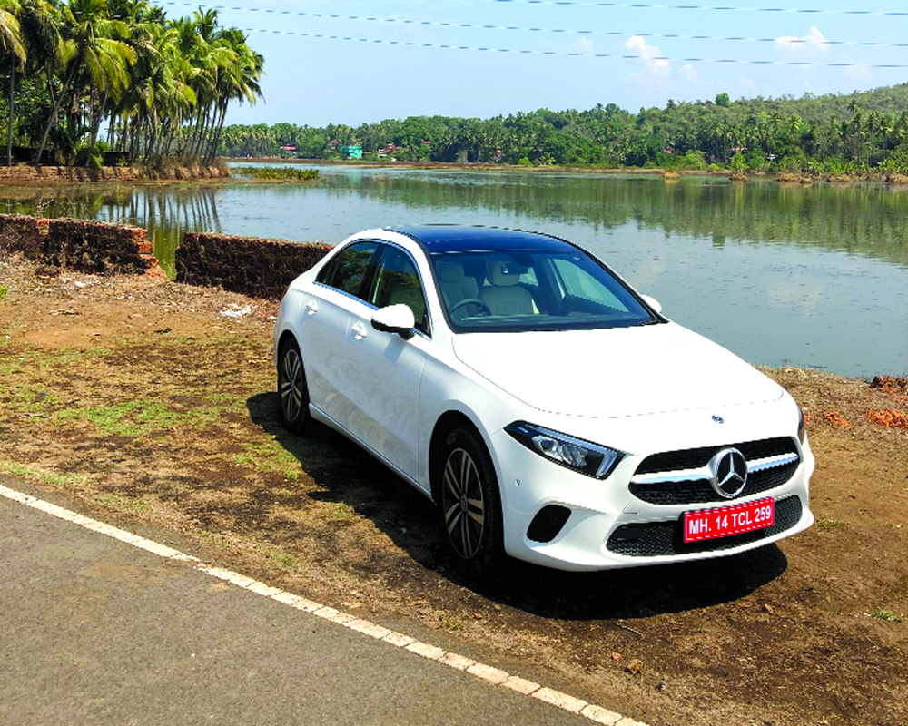 A new baby Mercedes