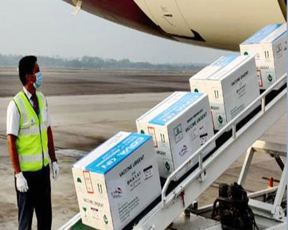 Airlines transport Bharat Biotech's Covaxin to 11 cities