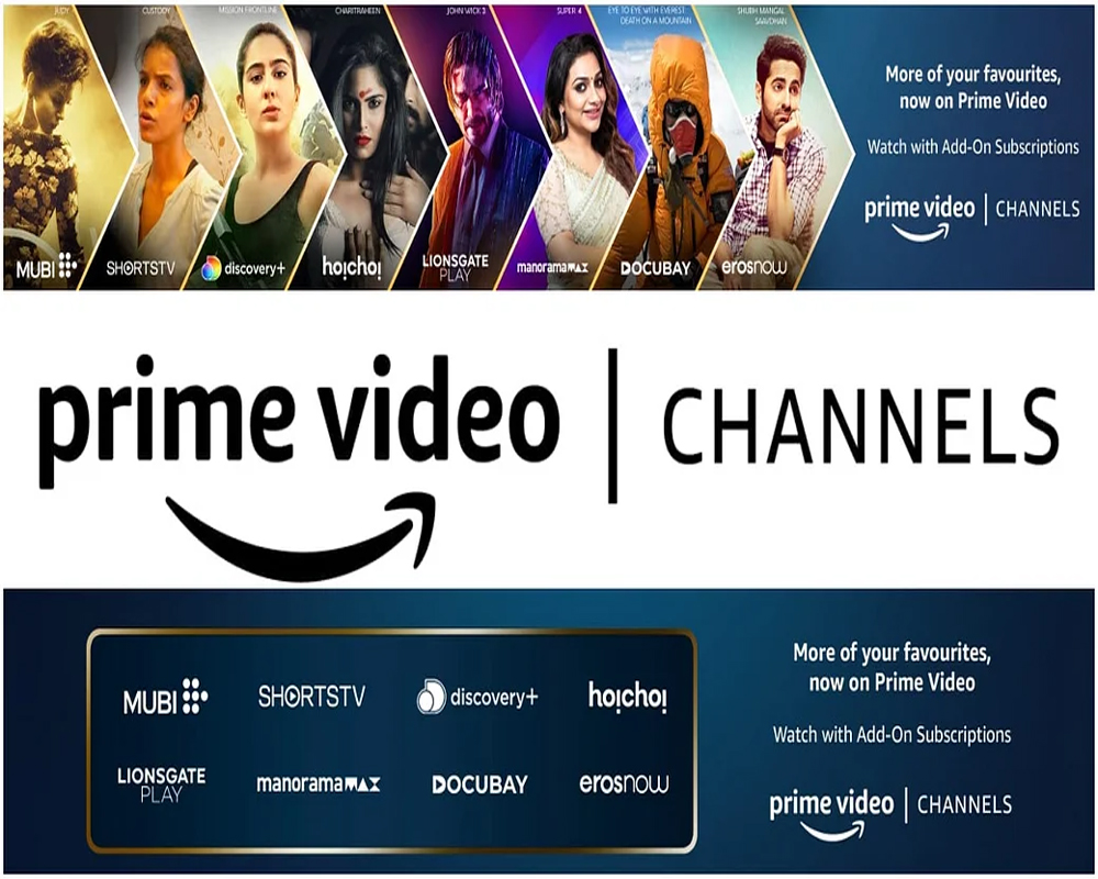Amazon launches Prime Video Channels, to provide content from multiple  streaming services
