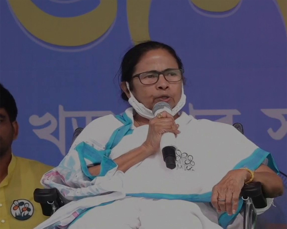 Confront BJP-hired goons with ladle and spatula, Mamata tells women in Bengal