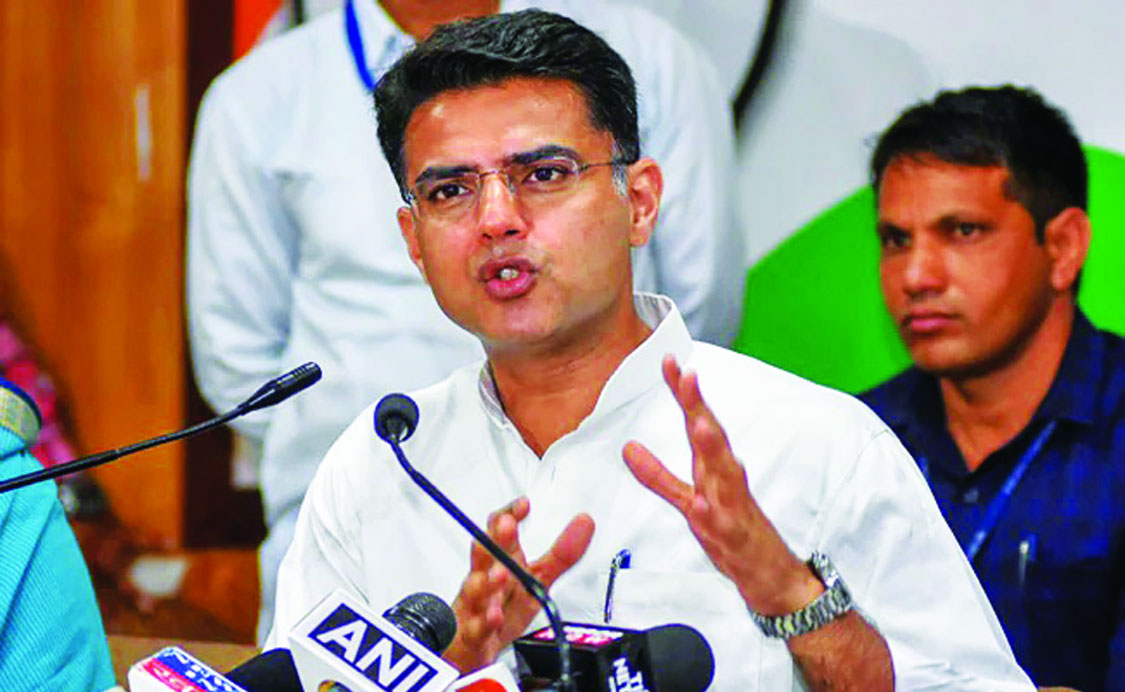 Cong rushes to placate Pilot