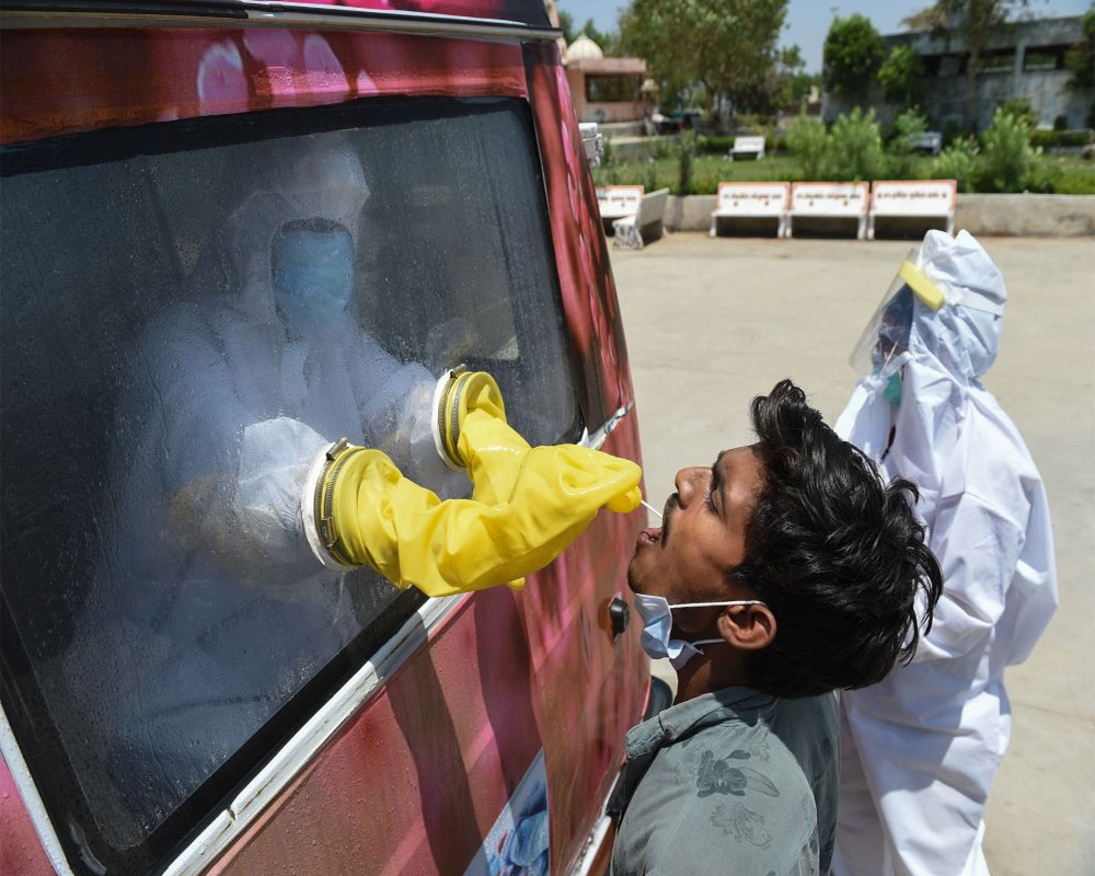 COVID-19: 18,177 new cases take India's virus tally to 1,03,23,965