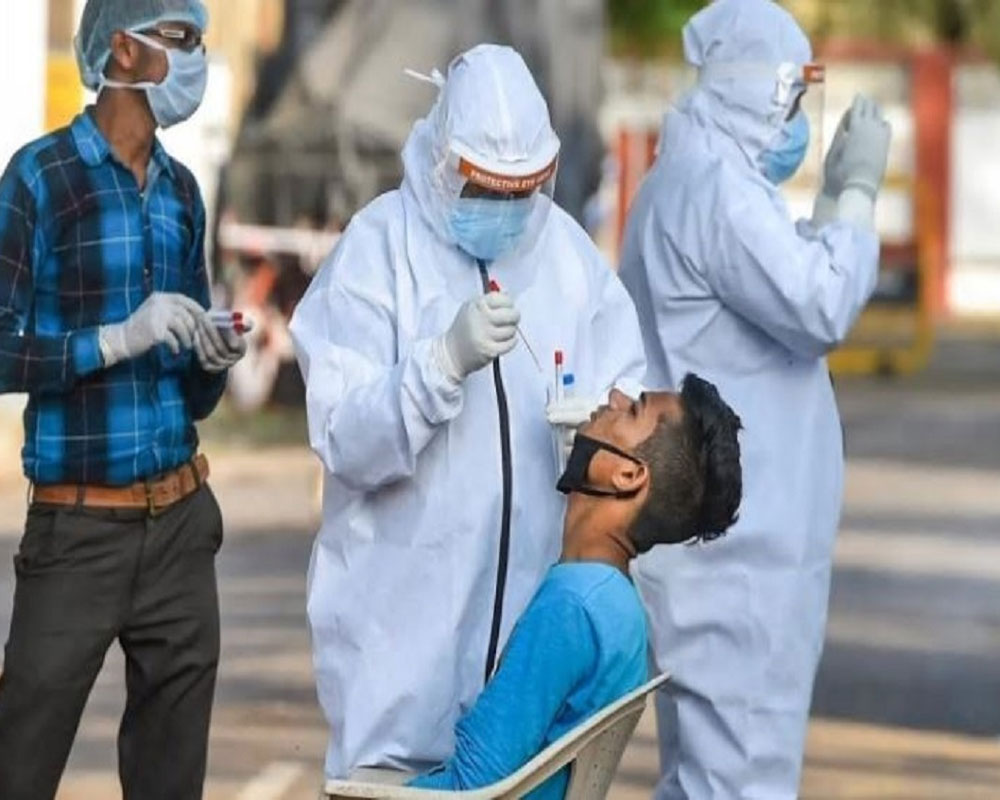 COVID-19: India records 3,68,147 new cases in single day, 3,417 fresh fatalities