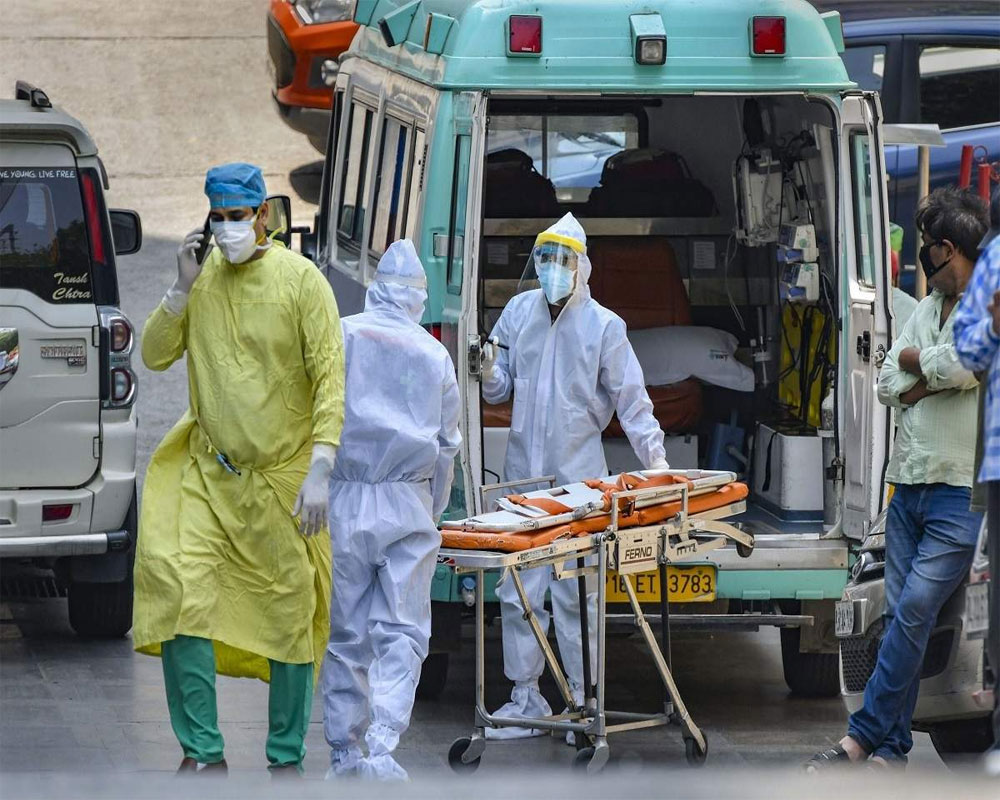 COVID-19: India reports 35,342 fresh cases, 483 new fatalities