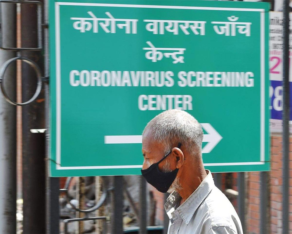 Daily COVID-19 count in India remains below one lakh mark