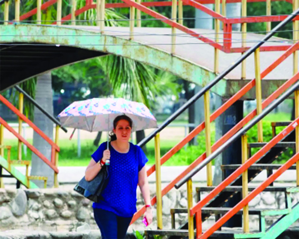 Delhi's hottest day so far this year at 35.2o C; IMD predicts rain today