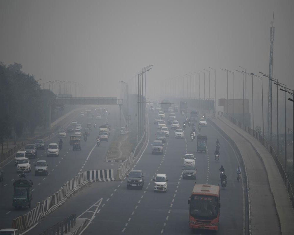 Delhi's air quality 'moderate' due to high surface winds