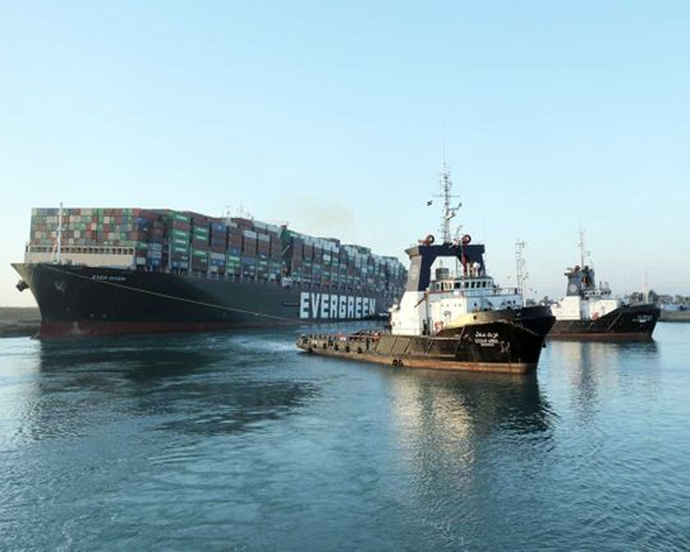 Egypt plans Suez Canal expansion after vessel was grounded