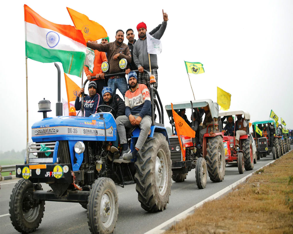 Farmers' tractor rally to go ahead as planned on Republic Day: Union leaders