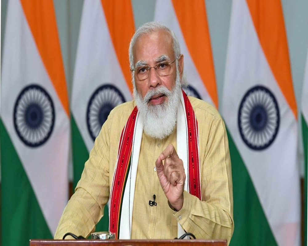 Govt working on four fronts to keep India healthy: PM