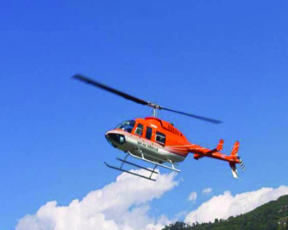 Helicopters an economic multiplier?