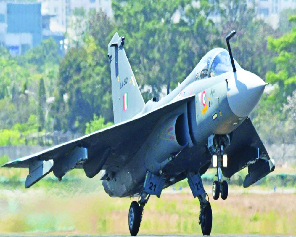In desi push & IAF boost,  Rs 48K cr OK'd for 83 Tejas