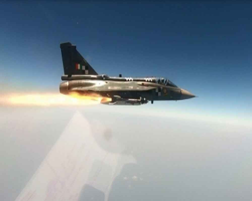 India carries out successful trial of Python 5 missile from Tejas