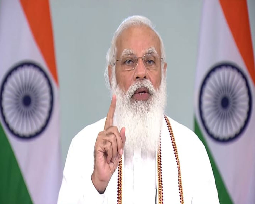 India faces most difficult challenge by following Lord Buddha's path: PM