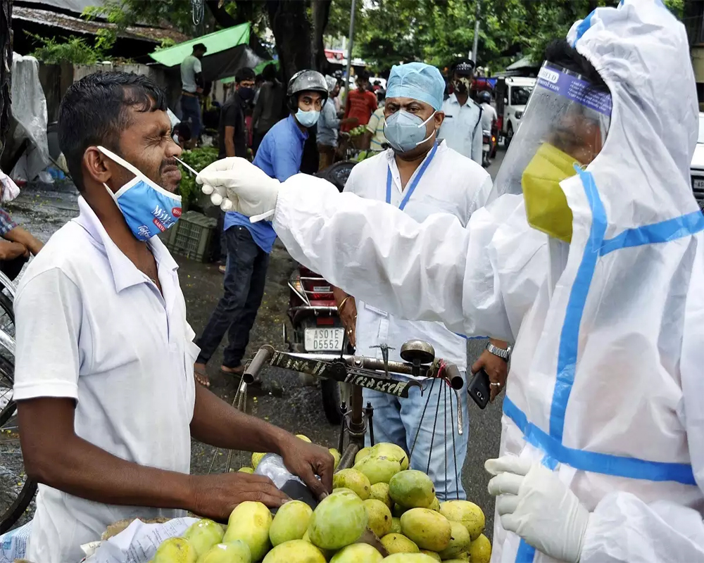 India reports 94,052 fresh Covid cases, highest single-day death toll of 6,148