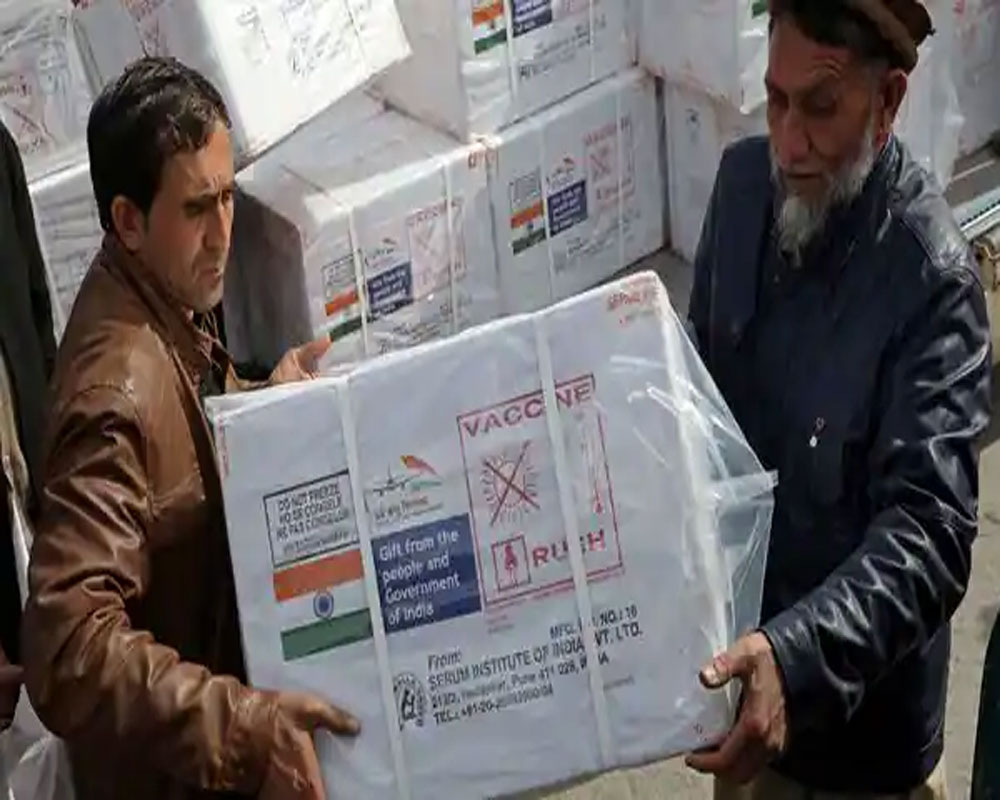 India's donation of COVID-19 vaccines to Afghanistan lauded