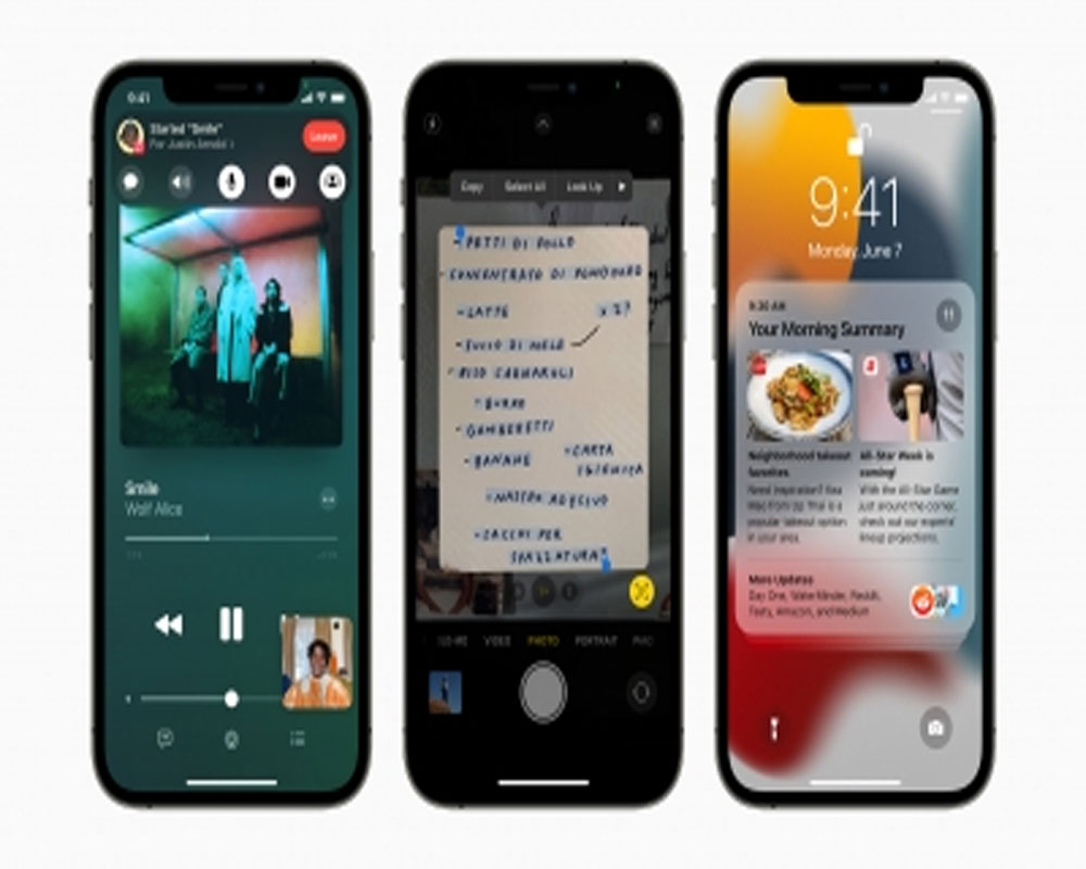 iPhone users will receive iOS 15 update on Sep 20