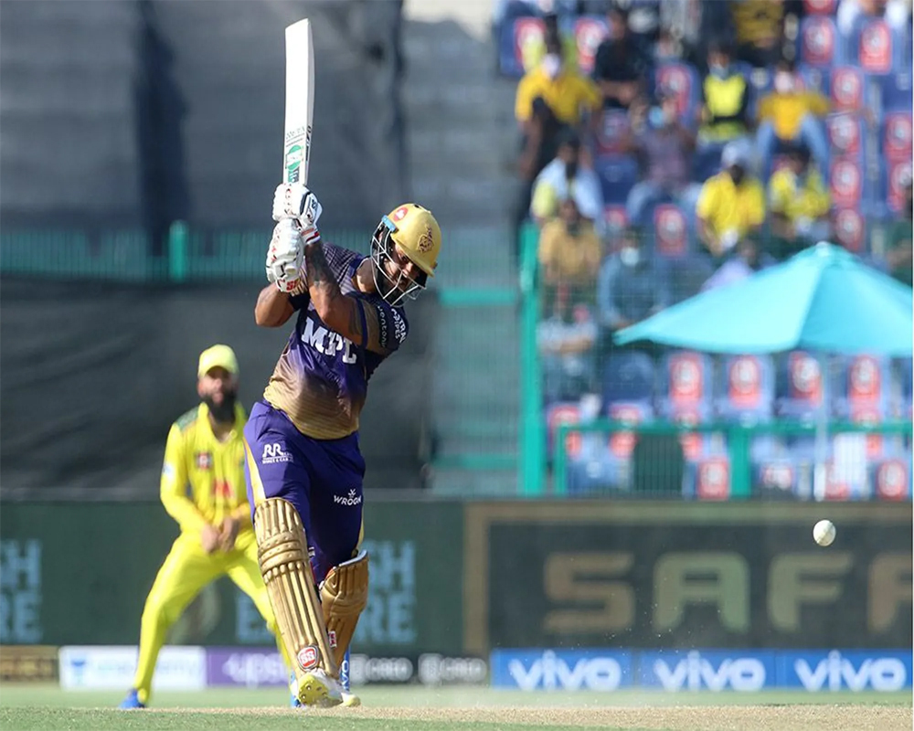 Knight Riders score 171/6 against CSK