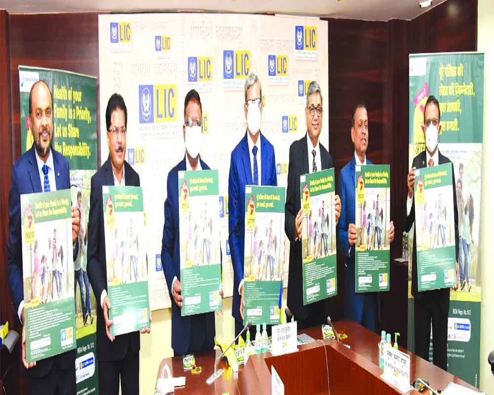 LIC launches new health insurance plan