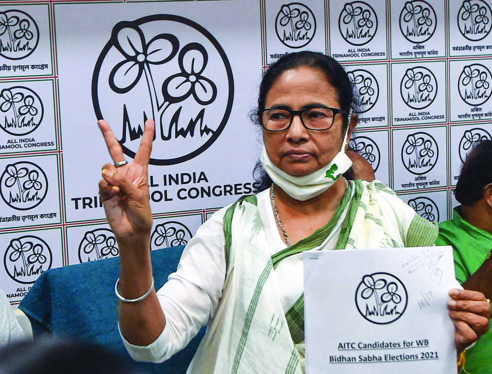 Mamata keeps her word, to fight from Nandigram