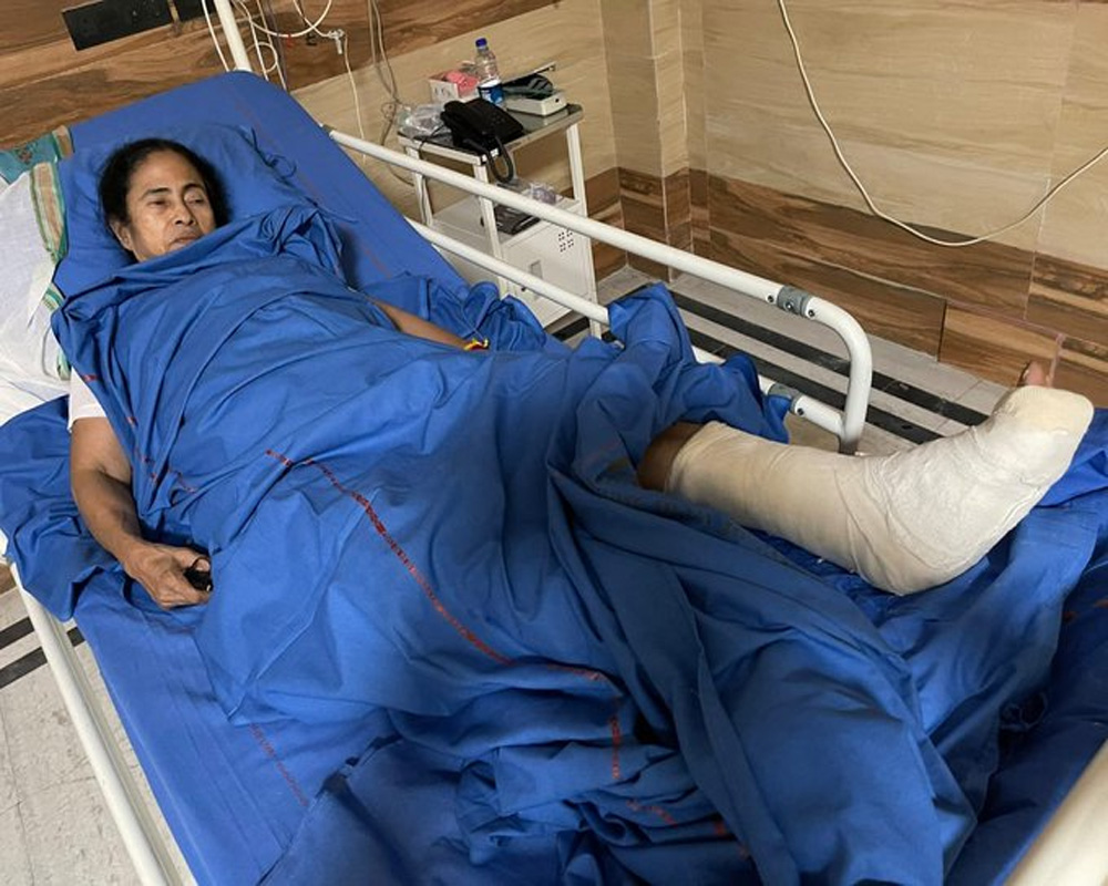 Mamata's tests detected injuries to her ankle, right shoulder, neck: Doctor