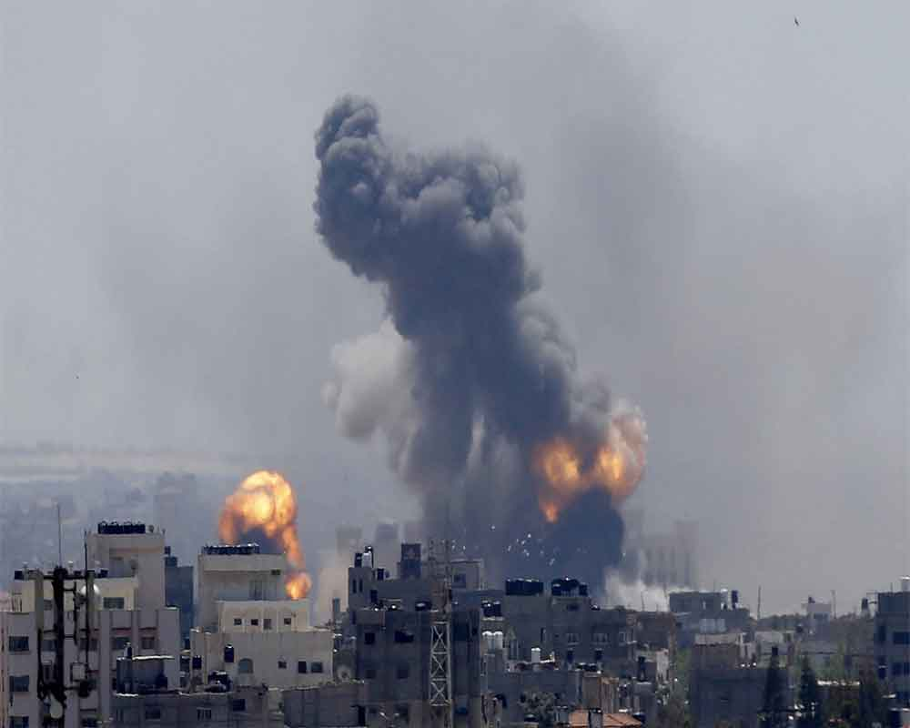 Military: Building housing Gaza AP office to be targeted