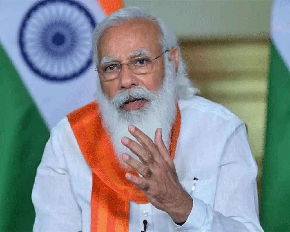 Modi speaks to UK PM, discusses climate change