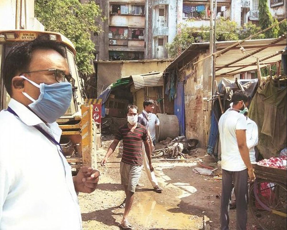 Mumbai's Dharavi records four new COVID-19 cases