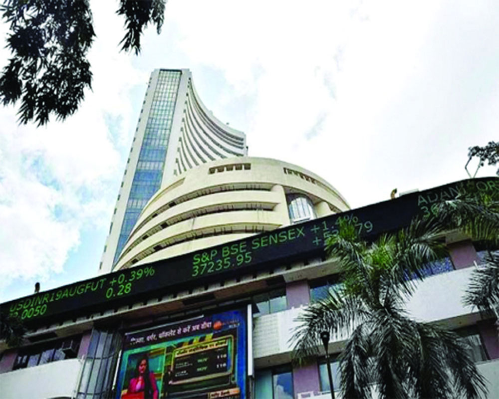 Nifty hits new high, Sensex up 260 points