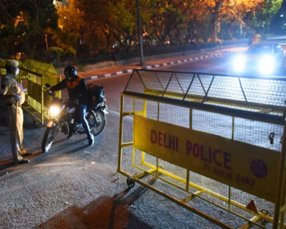 Night curfew imposed in Delhi from 10 pm to 5 am till April 30