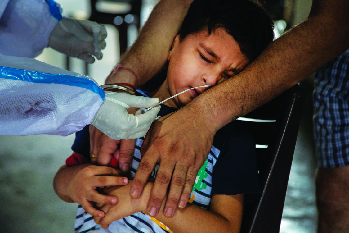 No Remdesivir; steroids only to critically ill kids