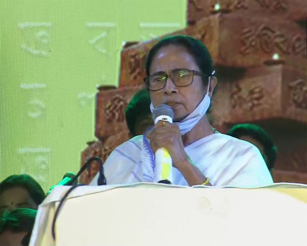 Not afraid of anyone, can't be initimidated with jail: Mamata