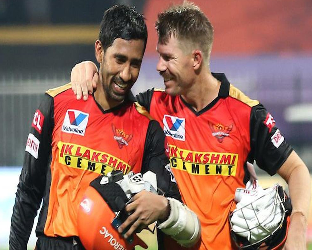 Now SRH's Wrddhiman Saha tests positive for COVID, IPL match against MI unlikely
