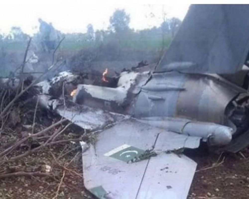 Pak Air Force aircraft crashes; no clarity on pilot's condition: Officials