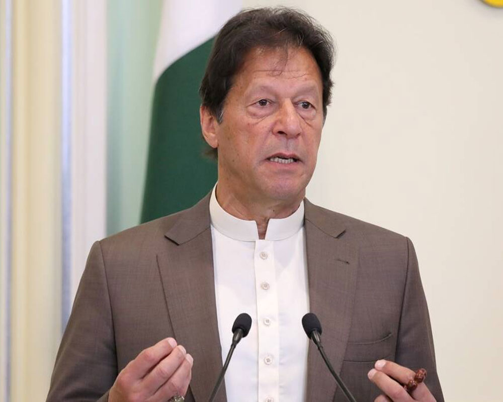 Pakistan ready to resolve all outstanding issues through dialogue: PM Imran