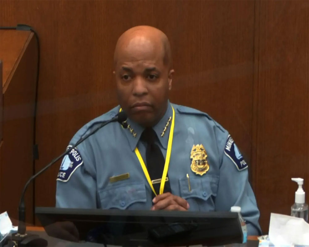 Police chief: Kneeling on Floyd's neck violated policy