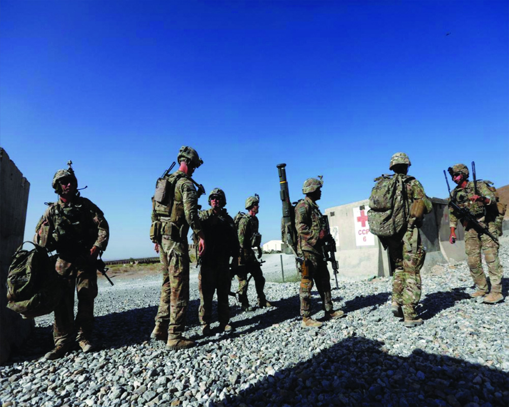 Questioning pullback from Afghanistan