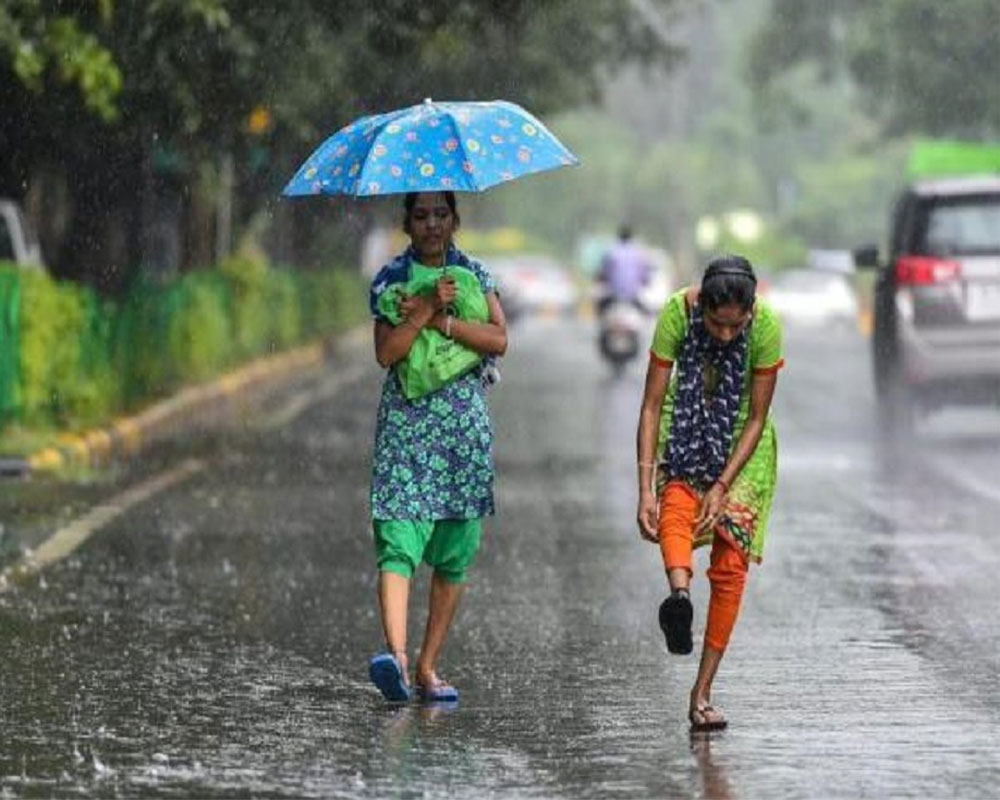 Rainfall intensity over NW India to decrease from today