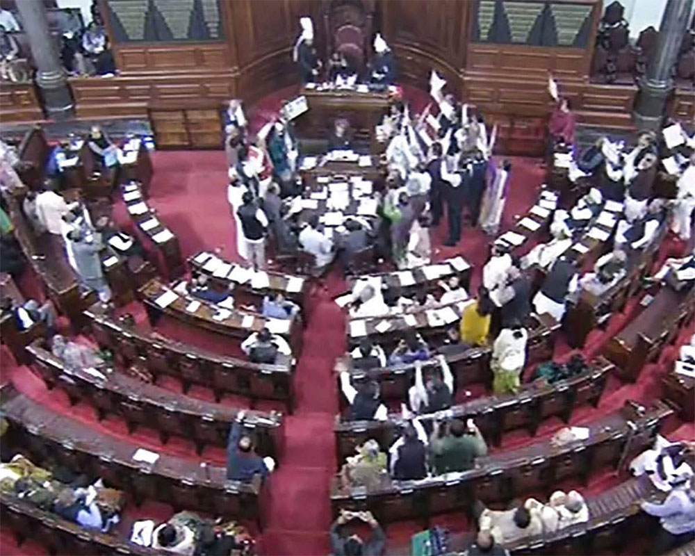 Rajya Sabha adjourns for one hour as mark of respect to departed sitting member