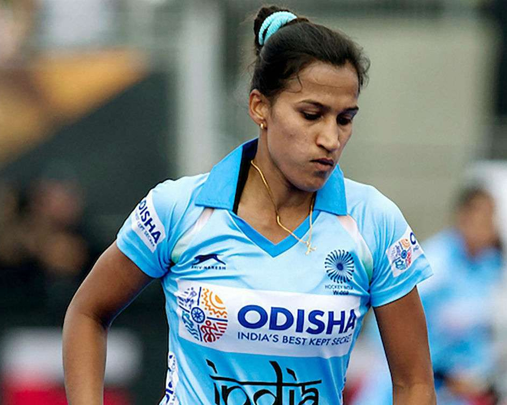 Rani Rampal-led Indian women's hockey team leaves for Argentina tour
