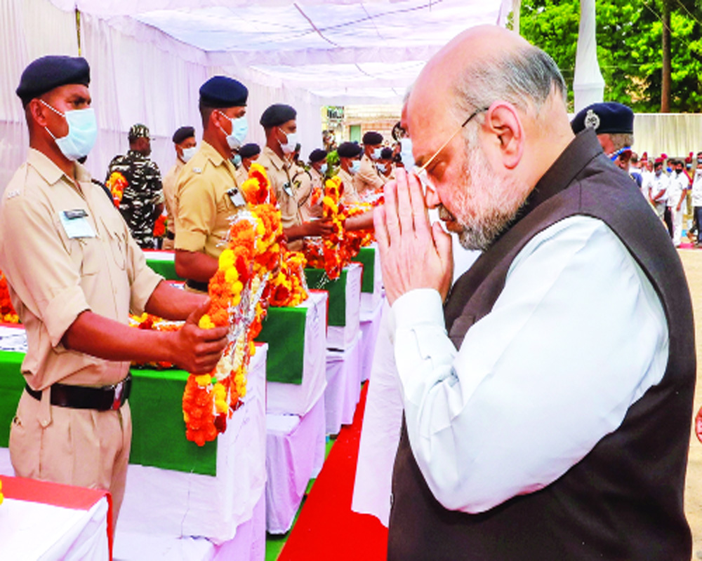 Shah revisits strategy to wipe out Maoists