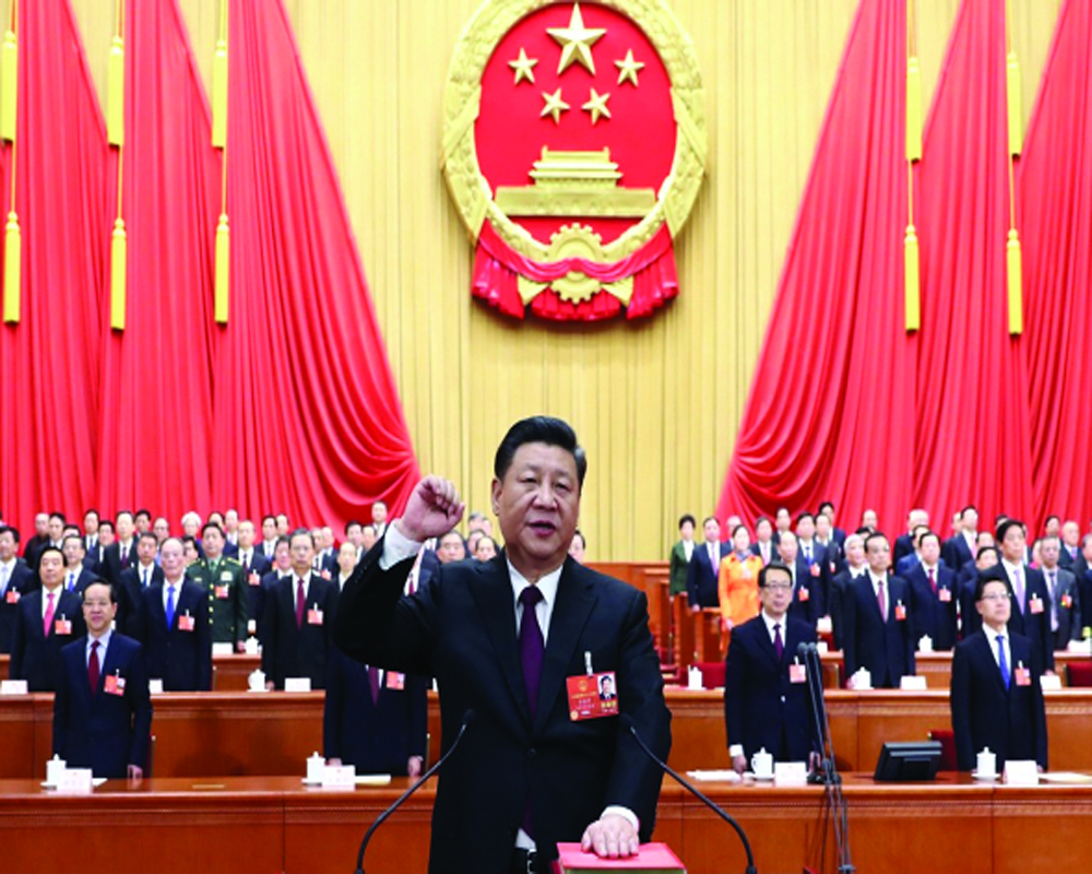 The Chinese Communist Party's centenary